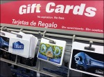 Clip-On Slatwire Display Hooks For Gift Cards
