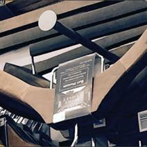 Clothes Hanger Disk Finial Slatwall Hooks 3