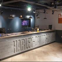 D-R Harley-Davidson Branded Service Counter 1