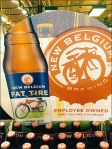 Fat Tire Branded Beer Overall Display 3