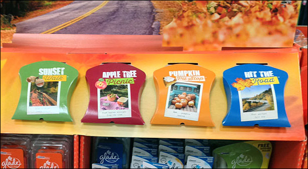 Glade® Color-Codes Fall Fragrance Merchandising