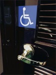 Handicapped Fitting Room Indicator Closeup
