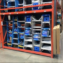 Interlocking Step Ladder Display