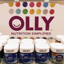 Olly Nutrition Color-Coded Shelf Edge Merchandising 3