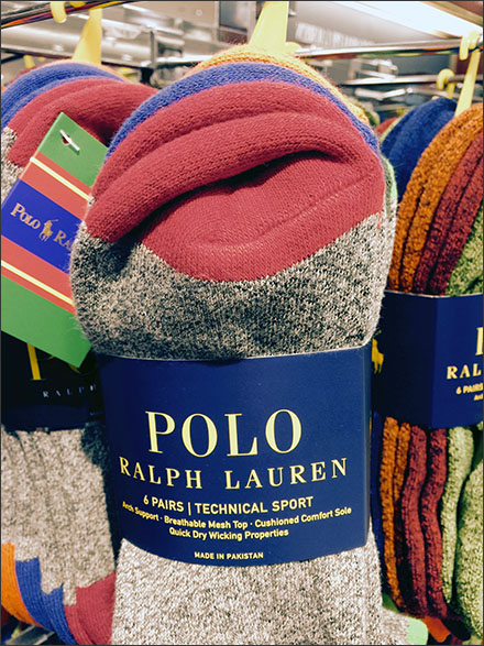 Technical Details of Polo Technical Sock Sales