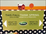 Scotts® This Fall Think Spring Future Up-Sell