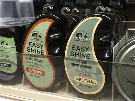 Easy Shine® Shoe Polish Branding Eccentricity