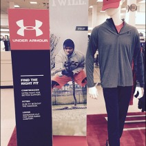 Under Armour Color Coordinated Merchandising 2