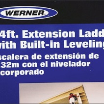 Werner Ladder Leveling Try-Me 1