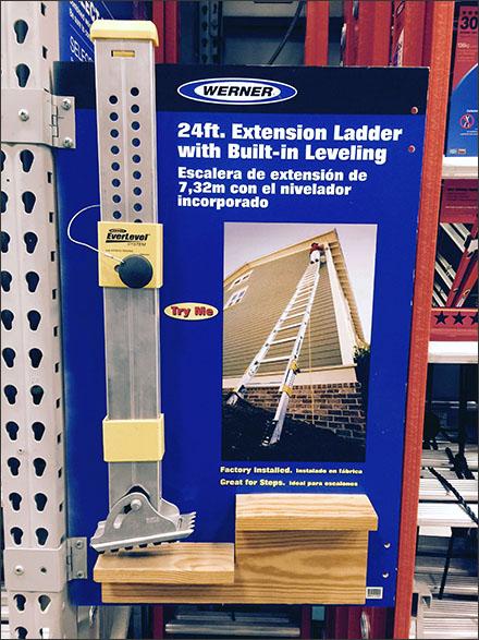 Werner® Ladder Leveler Try-Me Redux
