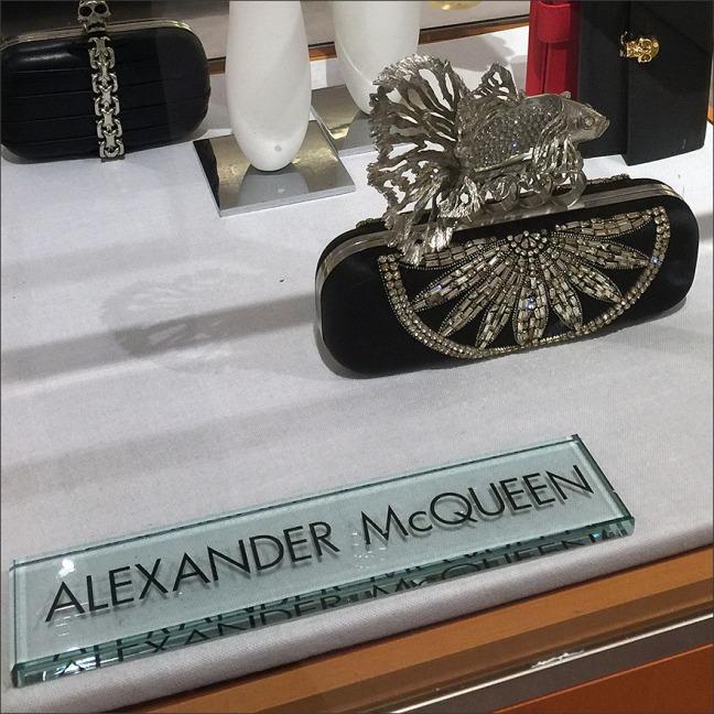 Alexander McQueen Museum Case Aquarium
