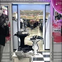 Bloomingdales In-Store Pergola 3