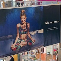 Fabletics Mall Banner 2
