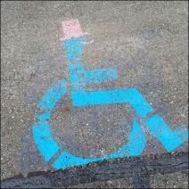 Handicap Parking for Formalwear