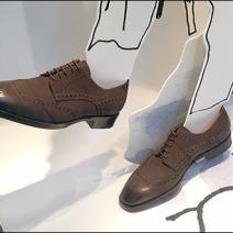 Hermes Foamcore Footwear Model