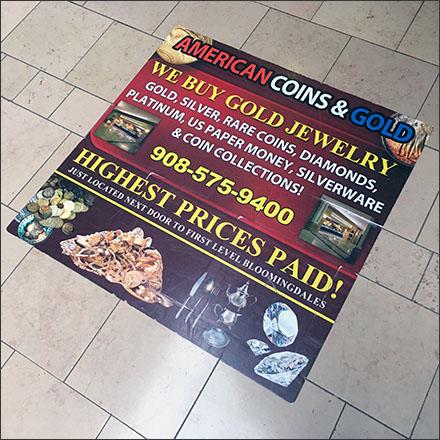 Highest Prices Paid Floor Graphic