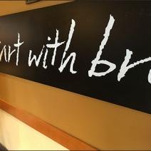 Panera Bread® Starts With Chalkboard