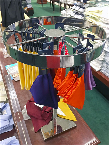 Pocket Square Retail Round-About