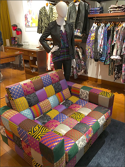 Rober Graham® In-Store Patchwork Seating