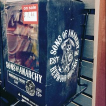 Sons of Anarchy® Slatwall Ledge With Kickstand