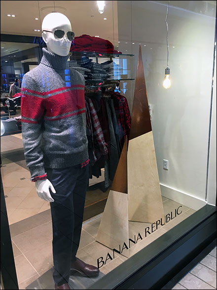 Banana Republic Triangular Xmas Trees Main