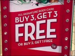 Buy 3 Get 3 Free BOGO CloseUp