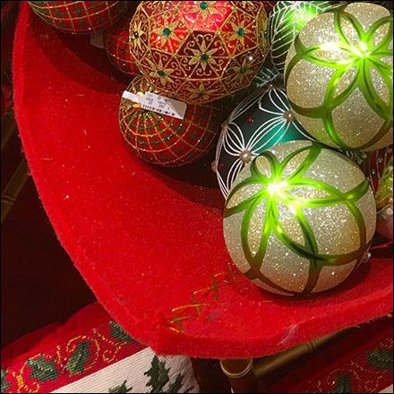 Christmas ornament soft sided bulk bins fixtures close for Mercedes benz christmas ornament