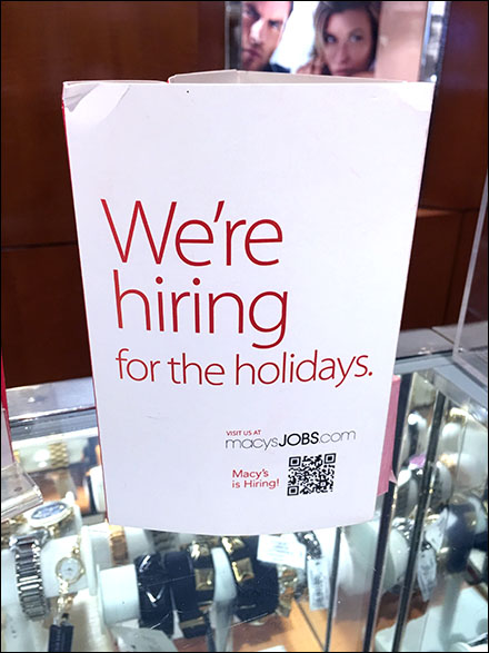 Macys® Hiring For The Holiday
