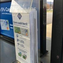 No Cash Credit Card Application Holder 2