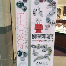 Peanuts Jewelry at Zales 1
