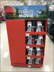Peanuts The Movie Plush Point-of-Purchase Side