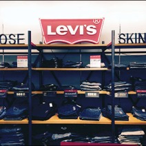Levis® Silhouetted Signs for Jeans