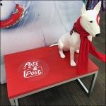 Target Bullseye Mascot Pose & Post