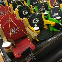Team Branded Football Chair Miniatures 2