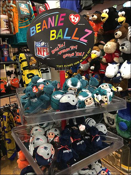 Ty NFL Beanie Balls Square Spinner