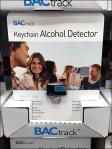 Alchohol Detector Pallet Merchandisng Closeup