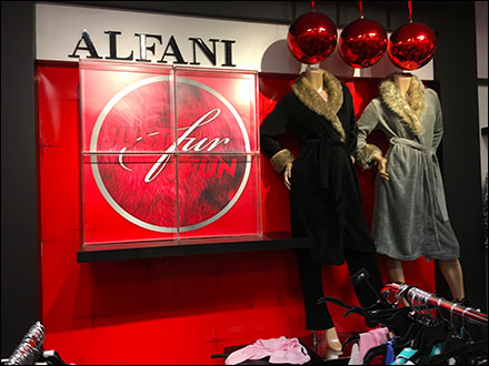 Alfani Just Fur Fun Overall