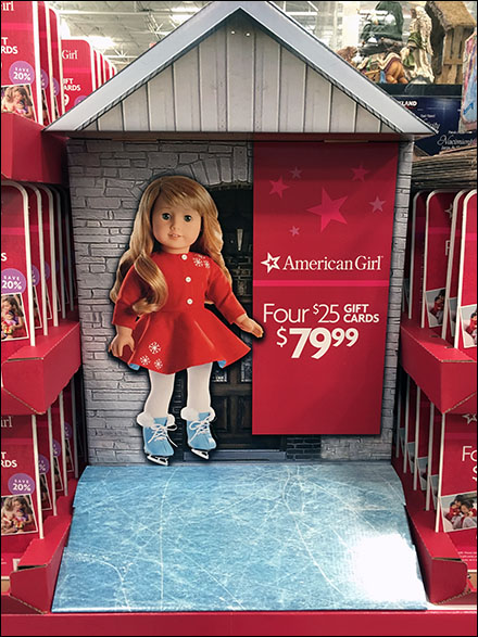 American Girl 4 Gift Cards Main