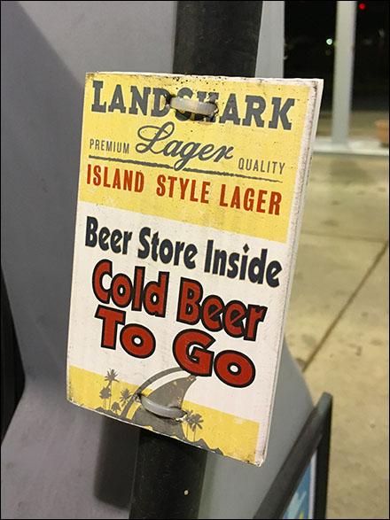 Beer Cross Sell at Gas Pump Main