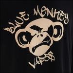 Blue Monkey Vape Bar Branding CloseUp