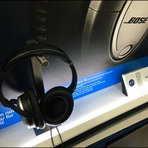 Bose Headphone Display Backlit 3