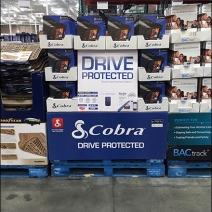 Cobra Radar Detector Pallet Display 1