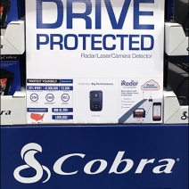 Cobra Radar Detector Pallet Display 3