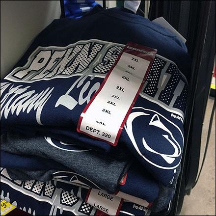 Collegiate Licensed Merchandising Display Main