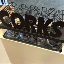Cork Caddy Merchandising Overall