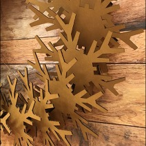 Corrugated Christmas Wreath 2