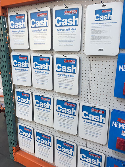 Costco Cash Gift Card Main