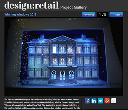 Design-Retail Winning Holiday Window Designs