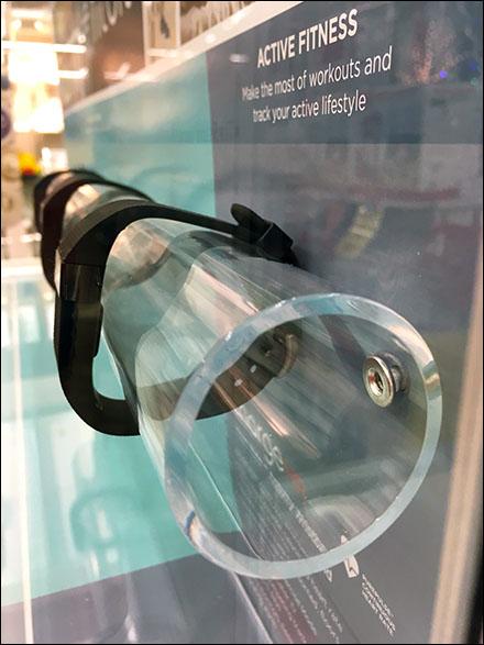 FitBit Display Tube CloseUp