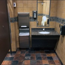 Full Outfitted Handicapped Stall 1
